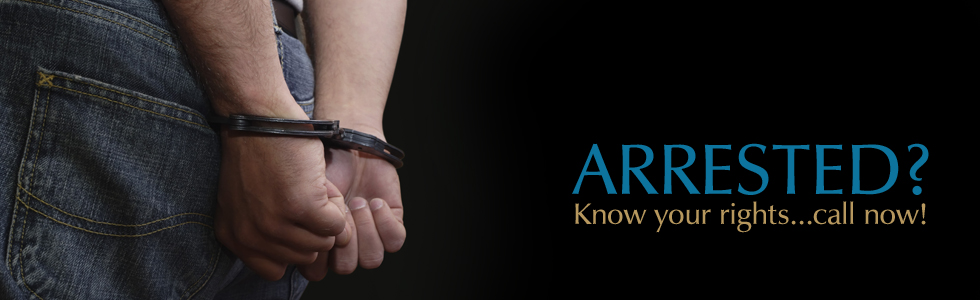 ARRESTED? Know your rights!
