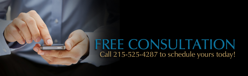 FREE CONSULTATION! Call 215-525-4287.